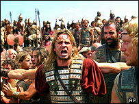 A shot from the Warner Bros. film 'Alexander'