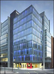 Sentinel Office Development in Glasgow - picture taken by Andrew Lee