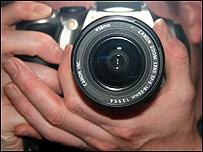 Cámara fotográfica.