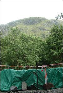 Ben Nevis memorial site