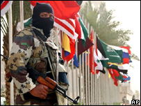 Miembro de las Fuerzas Especiales sauditas