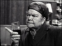 Violet Carson as Ena Sharples in Coronation Street 1968