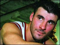 WBO super middleweight champion Joe Calzaghe