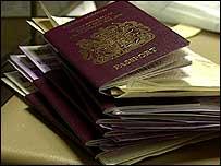Passports - generic
