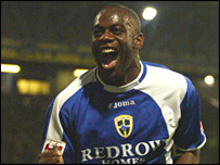 Loan striker Michael Ricketts opened his Cardiff account