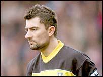 Portsmouth keeper Kostas Chalkias