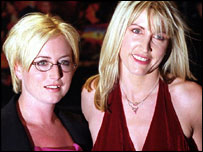 Fiona Mills and Heather Mills McCartney