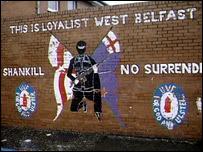 A UVF mural