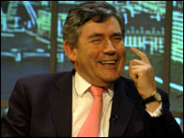 Gordon Brown MP photo: Jeff Overs
