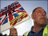 South Jarrow protester