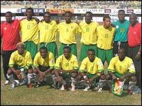 El seleccionado de Togo.