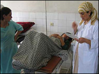 Maternity hospital in Badakhshan