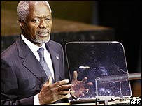 UN Secretary General Kofi Annan