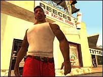 Screen shot from GTA: San Andreas