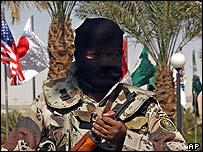 Guard at Riyadh counter-terrorism conference