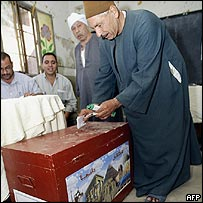 Egyptian voters
