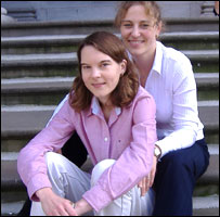 Paula Burke (left) and Joanna Sedley
