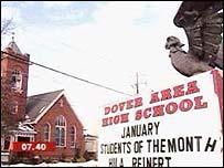 El secundario de Dover, donde se generó la polémica.
