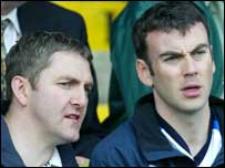 Damien Cassidy and Martin McElkennon