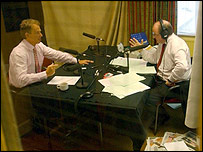 James Naughtie interviews Tony Blair for Today