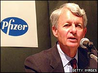 Pfizer chief executive Henry McKinnell