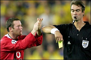 Wayne Rooney's suspect temperament causes him and his side problems again