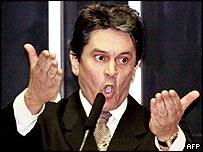 Expelled lawmaker Roberto Jefferson