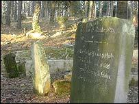 Jewish cemetery in Skarszewy, near Gdansk