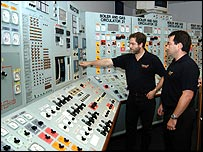 Interior of Dungeness B nuclear power station