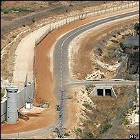 Stretch of the barrier near Qalqilya