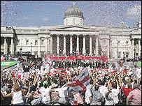 Trafalgar Square celebrations