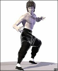 Bruce Lee statue design