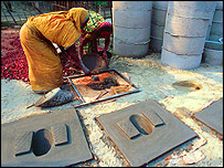 Making latrines in Bangladesh, image WaterAid/Abir Abdullah