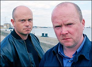 Grant and Phil Mitchell from EastEnders