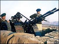 Soldiers in Waziristan