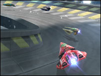 Screenshot of Wipeout Pure, Sony