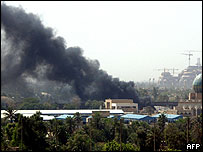 Early afternoon bombing in western Baghdad on Wednesday