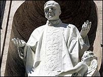 Statue of Josemaria Escriva de Balaguer