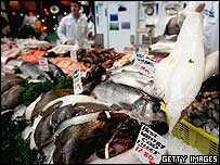 Fish at Borough Market