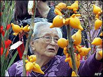 Woman in Hong Kong - 8/2/05