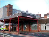 Hartlepool's University hospital