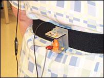 Device on tester (Oregon Health & Science University)