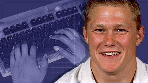 England winger Josh Lewsey