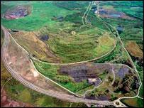 Ffos-y-Fran aerial shot: Miller Argent website