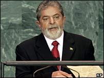 Brazilian President Luiz Inacio Lula da Silva