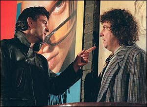 Nick Cotton and Nigel Bates from EastEnders