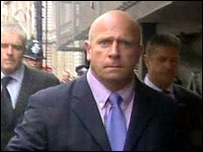 Pc Neil Latteman leaving court