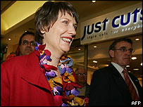 Helen Clark during the 2005 election campaign
