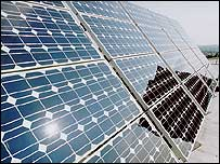 Photovoltaic solar array (Image: University of Southampton)