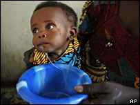 Child in drought-stricken Niger (AP)